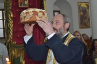SVETI SAVA-rezanje slavskog kolača