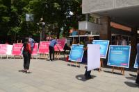Pokret slobodnih građana-predizborni skup u Vranju