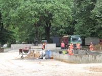 Obilazak radova u Gradskom parku