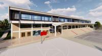 Projekat stadiona u Preševu