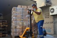 Podela paketa pomoći u Vranju