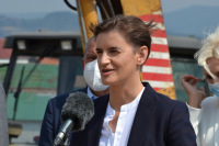 Ana Brnabić obišla stanove za pripadnike službi bezbednosti