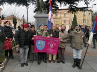 Zastava 63. padobranske brigade u Vranju