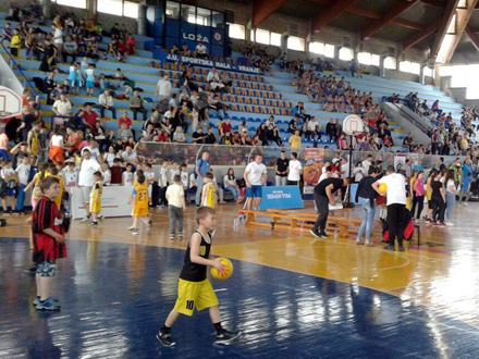 Srećno detinjstvo u Vranju: Otvoren MINIBASKET FESTIVAL
