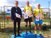 Maratonci na pobedničkom postolju