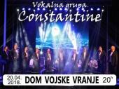 """Vokalna grupa """"Constantine"""" prvi put u Vranju"""