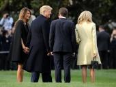 Neobična večera bračnih parova Tramp i Makron