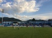 Policija snima utakmicu RADNIK - PARTIZAN