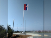 Zavijorila se zastava na JARBOLU