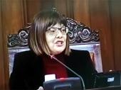 Maja Gojković radi na zaustavljanju