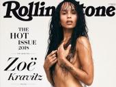 Zoe Kravitz gola na naslovnici Rolling Stonea