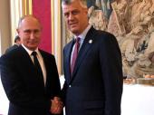 Šta je Tači rekao Putinu, a Putin Tačiju