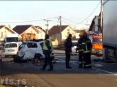 Direktan sudar kamiona i auta, poginuo muškarac