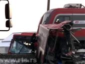 Sudar voza i autobusa kod Niša, petoro poginulo i 20 povređeno