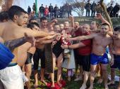 Plivanje za krst na Južnoj Moravi