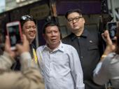 Dvojnici Kim Džong Una i Rodriga Dutertea izazvali pometnju u Hongkongu