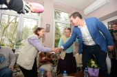 Predsednik Srbije obišao dom za stare u Surdulici
