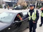 Policijska čestitka: CVET umesto KAZNE
