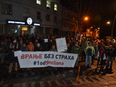 Protest 1 OD 5 MILIONA osmi put u Vranju