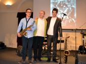 Jazz trio u Domu vojske: Jubilej Saše Ilinke (FOTO, VIDEO)