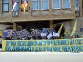 Protest Dinama: Poslujemo domaćinski, a nismo dobili NI DINARA (FOTO, VIDEO)