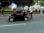 Ginisovac iz Hrvatske gurao automobil 85 kilometara