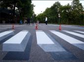 Sarajevo dobilo prvi 3D pešački prelaz