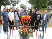 Lideri  Albanaca sa juga kod mesta pogibije KAPETANA LEŠIJA