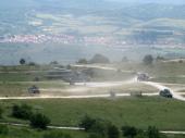 Izvedena vežba PLATINASTI VUK na poligonu Borovac (FOTO, VIDEO)
