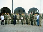 Nacionalna garda Ohaja u poseti Eparhiji vranjskoj
