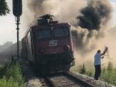 Zapalila se LOKOMOTIVA voza koji je prevozio KINESKU ROBU