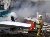 Rusija: Avionu se zapalio motor, piloti stradali, putnici spaseni FOTO, VIDEO
