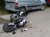Policajac se zakucao MOTOCIKLOM U ŠKODU