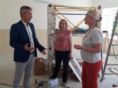 S TAMAROM U AKCIJI: Obnova škole u Mečkovcu po planu
