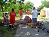 Priprema za nacionalno prvenstvo: Volonteri Crvenog krsta na KAMPOVANJU
