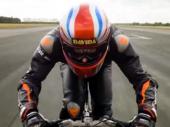 Britanac vozio bicikl 280 km/h VIDEO