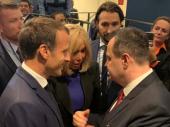Makron: Uključujem se u rešavanje problema u dijalogu Beograda i Prištine