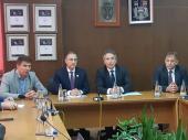 Stefanović  i Milenković o video nadzoru u Vranju