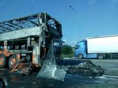 Zapalio se autobus: U vozilu bilo 8 putnika