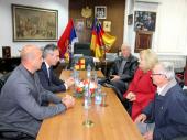 Prijem za Udruženje potomaka ratnika: Poštujemo uspomenu na Balkanske i Prvi svetski rat