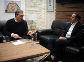 Vučić s Ljajićem: Prve konsultacije pred izbore