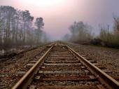 Izgoreli pragovi na delu pruge Kuršumlija–Prokuplje