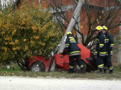 Nesreća u Korbevcu: Jugom udario u BANDERU