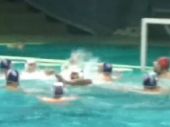 Video: Tuča u bazenu - sevale pesnice na meču Partizana i Mornara