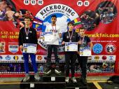 Tri medalje za vranjske kik boksere u Nišu