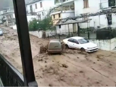 Zastrašujući snimci iz Grčke: Tornado i bujice vode nose eve pred sobom na Halkidikiju i Tasosu
