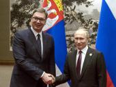 Vučić iz Sočija: Srbija i Rusija mogu da se oslone jedna na drugu
