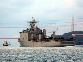 Američki ratni brod potonuo u Atlantiku FOTO