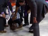 Video: Slavio koš, pa nokautirao sudiju