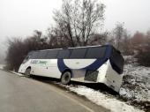 Pazite na poledicu: Autobus sleteo sa puta